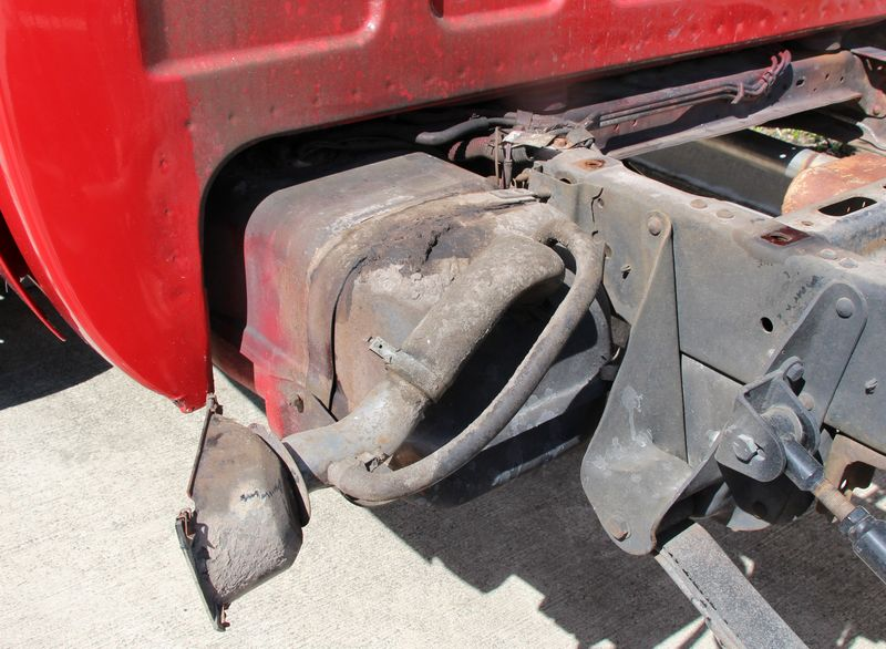 1987 Chevy Silverado 4x4 Leaking Gas out the top of the