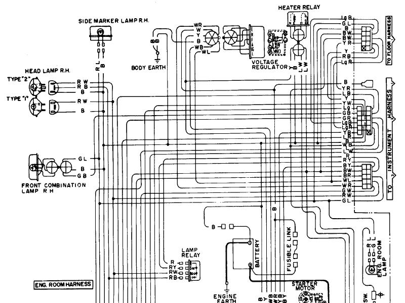 datsun 620 wiring diagram engine