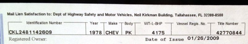 What Does Chevy Stand For >> 1978 Chevy Truck What Does The P Mean In The Pk On The