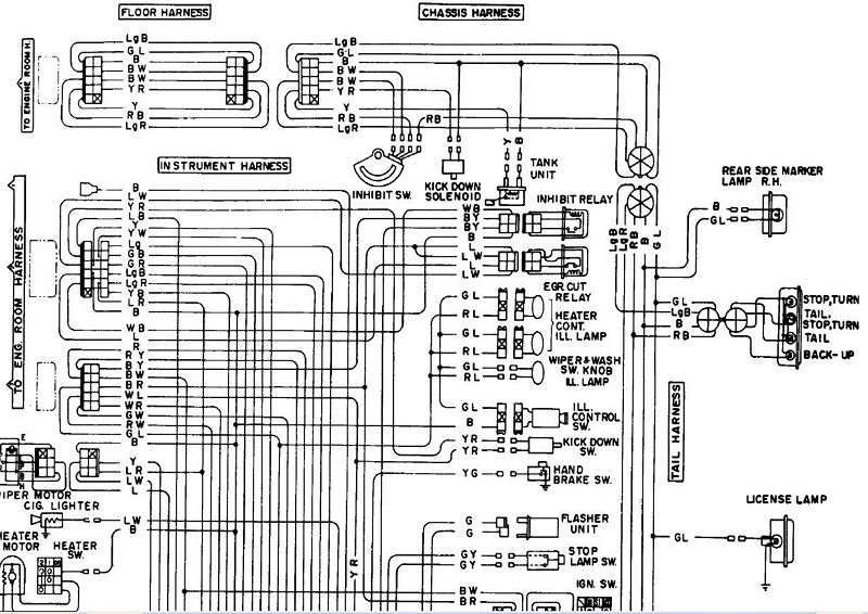 wdiagram2 280z wiring diagram diagram wiring diagrams for diy car repairs 1975 datsun 280z wiring diagram at virtualis.co